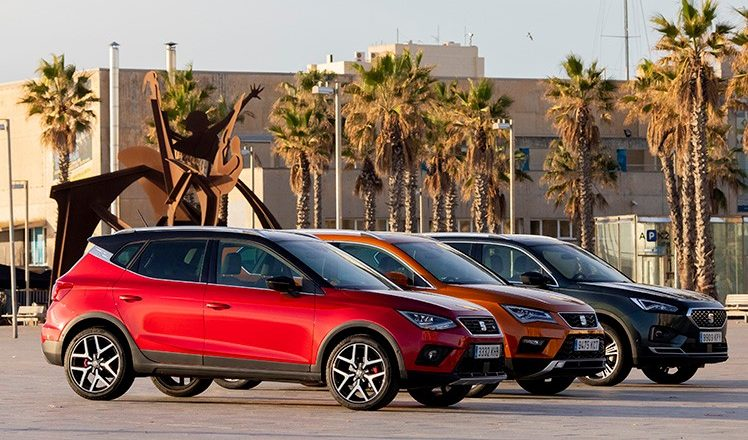 Rot ist bei SEAT beliebt als Autofarbe